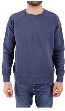 Sun 68 Men's Blue Cotton Sweatshirt.