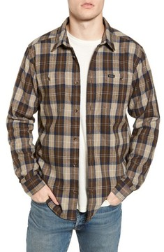 RVCA Men's Bone Flannel Shirt