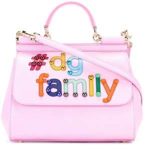 Dolce & Gabbana Sicily tdgfamily tote