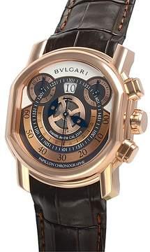 Bvlgari Daniel Roth 18K Pink Gold Men's Watch