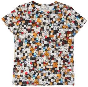 Paul Smith Dices Print Cotton Jersey T-Shirt