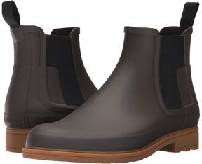 Hunter Refined Dark Sole Chelsea Boots Men's Boots