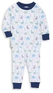 Kissy Kissy Baby's & Toddler's Two-Piece Dino Pajama Top & Bottom Set
