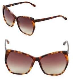Linda Farrow 61MM Oversized Sunglasses