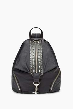 Rebecca Minkoff Julian Nylon Backpack With Studs - ONE COLOR - STYLE