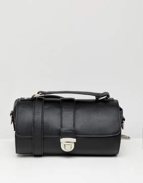 Asos DESIGN mini cylinder satchel cross body bag
