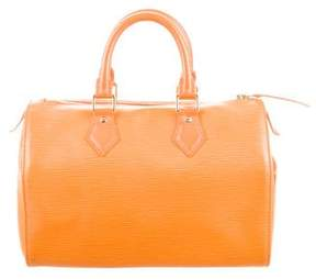 Louis Vuitton Epi Speedy 25 - ORANGE - STYLE