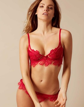 Agent Provocateur Seraphina Bra Red