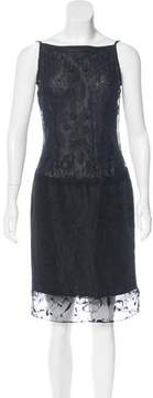 Christian Lacroix Embroidered Midi Dress