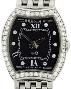 Bedat & Co No. 3 304.031.309 Stainless Steel Diamond Womens Watch