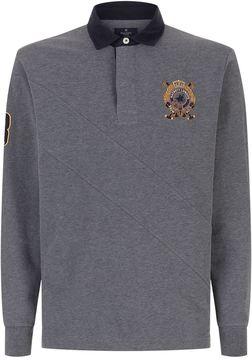 Hackett Long Sleeve Rugby Shirt