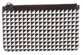 Proenza Schouler Printed Leather Clutch