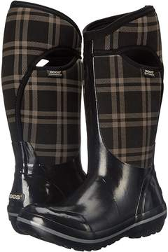 Bogs Plimsoll Plaid Tall Women's Cold Weather Boots