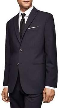 MANGO Slim-Fit Wool Suit Jacket