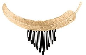 Chanel Feather Hair Comb