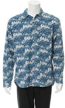 Alex Mill Printed Button-Up Shirt