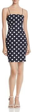 Aqua Polka Dot Body-Con Dress - 100% Exclusive