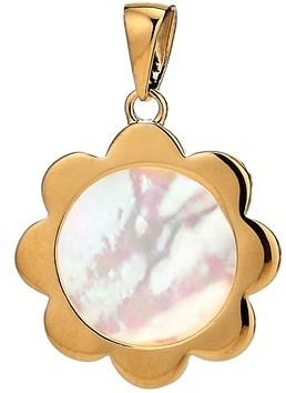 Asha Women's Flower Mother-Of-Pearl Charm