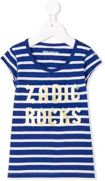 Zadig & Voltaire Kids logo printed T-shirt