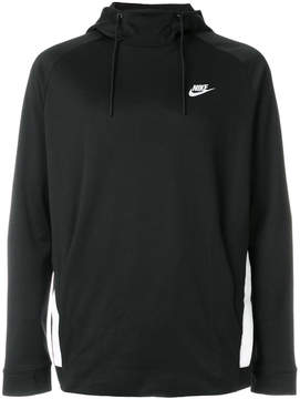 Nike logo patch hooded sweatshirt