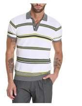Roberto Collina Men's White Cotton Polo Shirt.