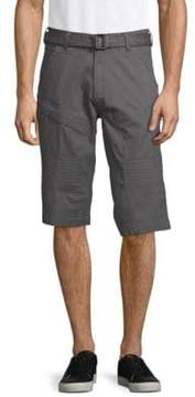 ProjekRaw Belted Stretch Shorts