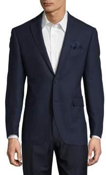 Black & Brown Black Brown Slim-Fit Textured Jacket