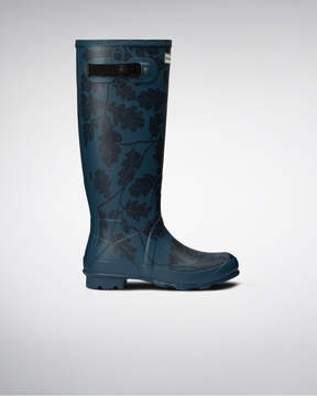 Hunter Women's National Trust Print Norris Field Boots