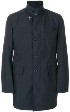 Fay zipped parka coat