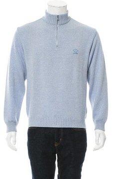 Paul & Shark Logo Embroidered Wool Sweater