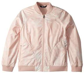 The North Face Kids Flurry Wind Bomber Jacket Girl's Coat