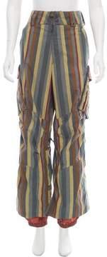 Burton High-Rise Wide-Leg Pants