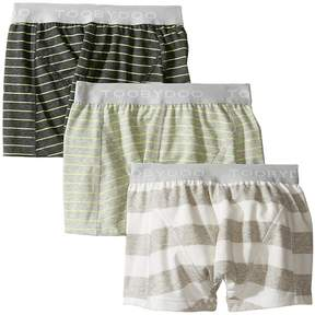 Toobydoo Multi Green Underwear 3-Pack Boy's Underwear
