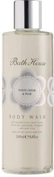Bath House White Cedar Pear Body Wash by 260ml Body Wash)