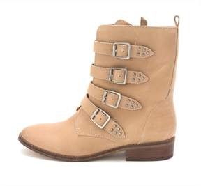 GUESS Womens Mayeta Almond Toe Ankle Fashion Boots Light Natural
