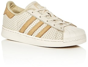 Adidas Boys' Superstar Perforated Lace Up Sneakers - Toddler, Little Kid