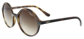 Vogue Vo5036s W65613 Brown Round Sunglasses.