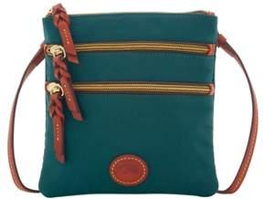 Dooney & Bourke Nylon North South Triple Zip Shoulder Bag - LEAF - STYLE