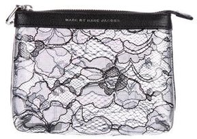 Marc by Marc Jacobs Lace Zip Pouch - BLACK - STYLE