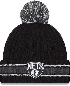 New Era Brooklyn Nets Basic Chunky Pom Knit Hat