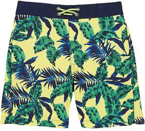 Appaman PALM-TREE-PRINT SWIM TRUNKS