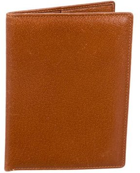 Gucci Leather Passport Holder - BROWN - STYLE