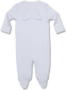 Marie Chantal Baby Boy Pointelle Angel Wing - Blue