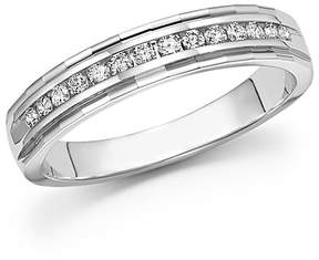 Bloomingdale's Diamond Men's Band in 14K White Gold, .25 ct. t.w. - 100% Exclusive