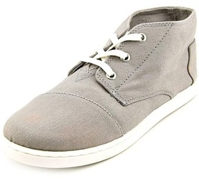 Toms Paseo Mid Youth Canvas Gray Fashion Sneakers.