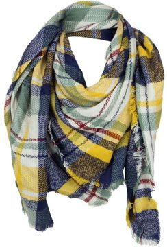 Woolrich Blanket Wrap Square Scarf