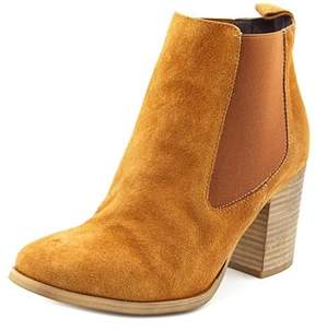 Coolway Lucille Women Round Toe Suede Brown Ankle Boot.
