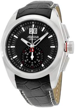 Alpina Nightlife Club AL353B4RC6 Stainless Steel & Leather Quartz 44mm Mens Watch