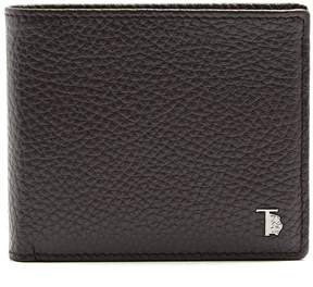 Tod's Bi-fold grained-leather wallet