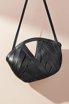 Anthropologie Petite Woven Basket Bag